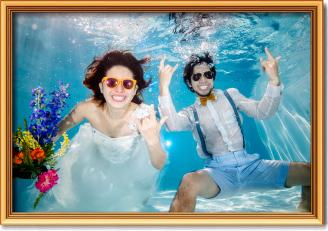 UNDERWATER WEDDING 水中ウェディングフォト